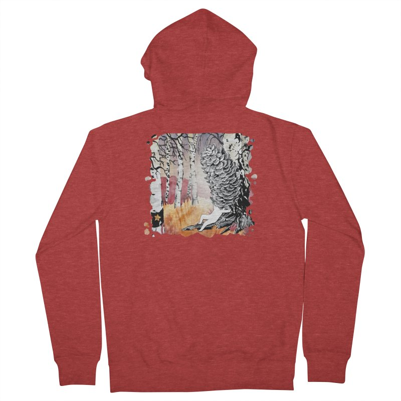 Autumn Forest from Karambola Men's Zip-Up Hoody by holypangolin