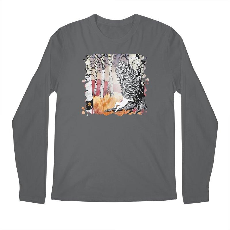 Autumn Forest from Karambola Men's Regular Longsleeve T-Shirt by holypangolin