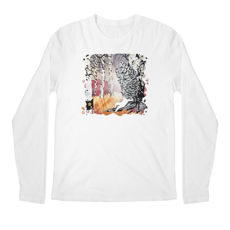 Autumn Forest from Karambola Men's Longsleeve T-Shirt by holypangolin