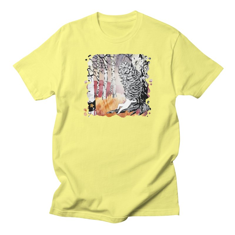 Autumn Forest from Karambola Men's Regular T-Shirt by holypangolin