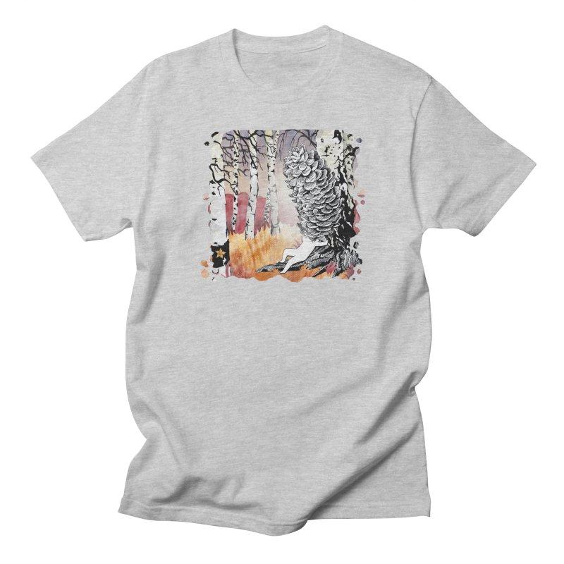 Autumn Forest from Karambola Men's Regular T-Shirt by holypangolin