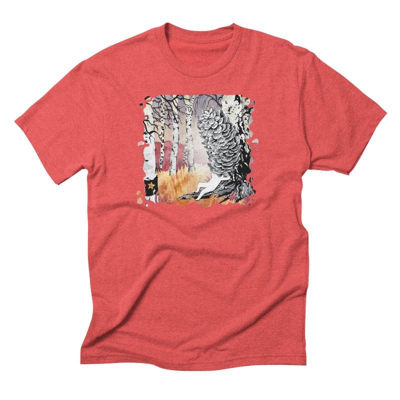 Autumn Forest from Karambola Men's Triblend T-shirt by holypangolin
