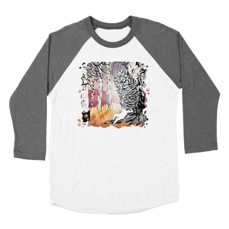 Autumn Forest from Karambola Women's Baseball Triblend Longsleeve T-Shirt by holypangolin