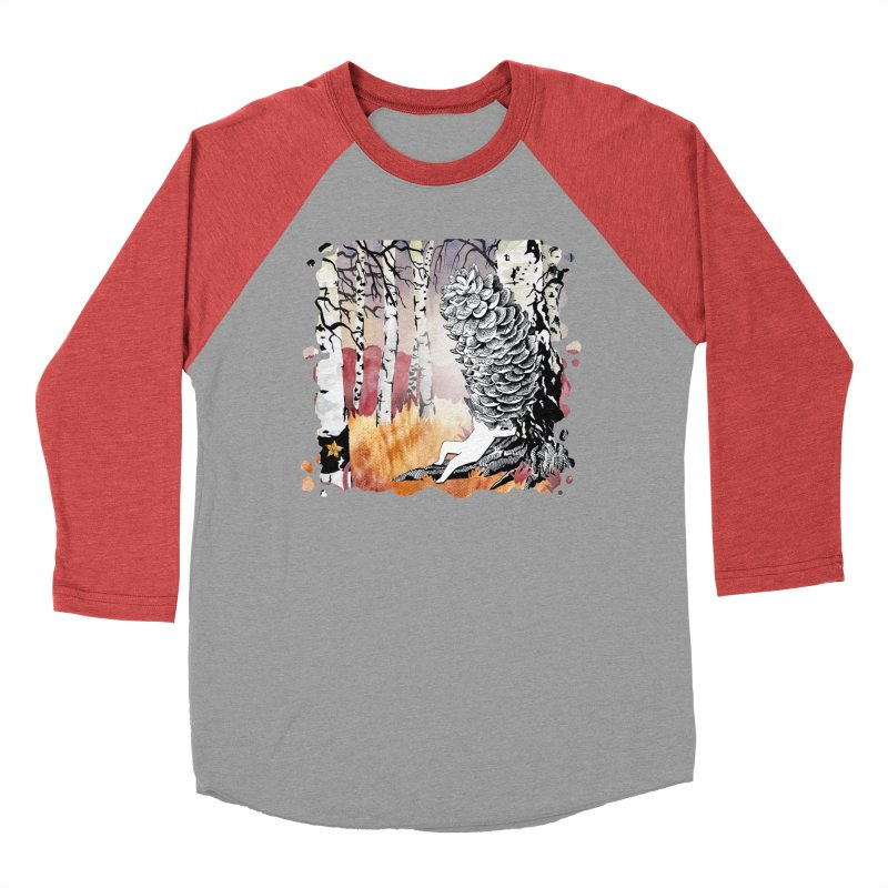 Autumn Forest from Karambola Women's Baseball Triblend Longsleeve T-Shirt by holypangolin