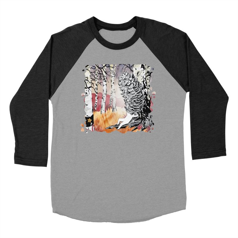Autumn Forest from Karambola Men's Baseball Triblend T-Shirt by holypangolin