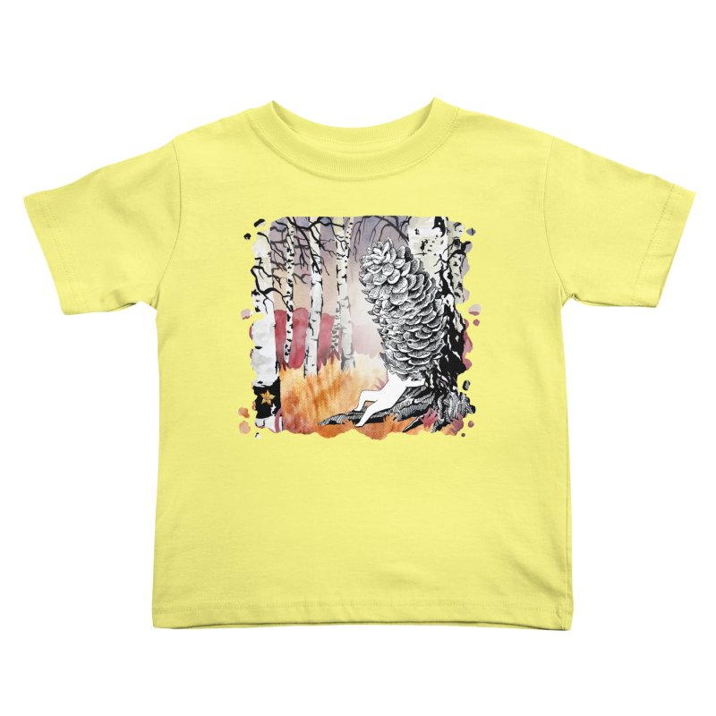 Autumn Forest from Karambola Kids Toddler T-Shirt by holypangolin