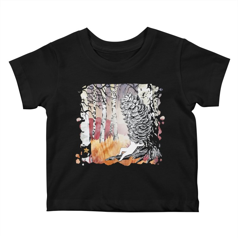 Autumn Forest from Karambola Kids Baby T-Shirt by holypangolin