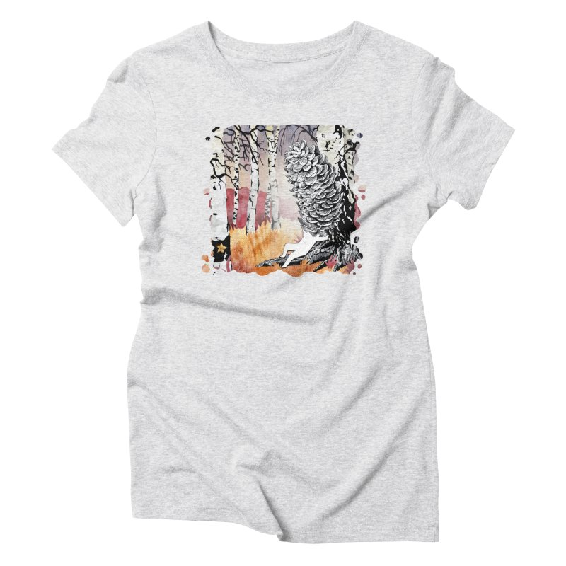 Autumn Forest from Karambola Women's T-Shirt by holypangolin