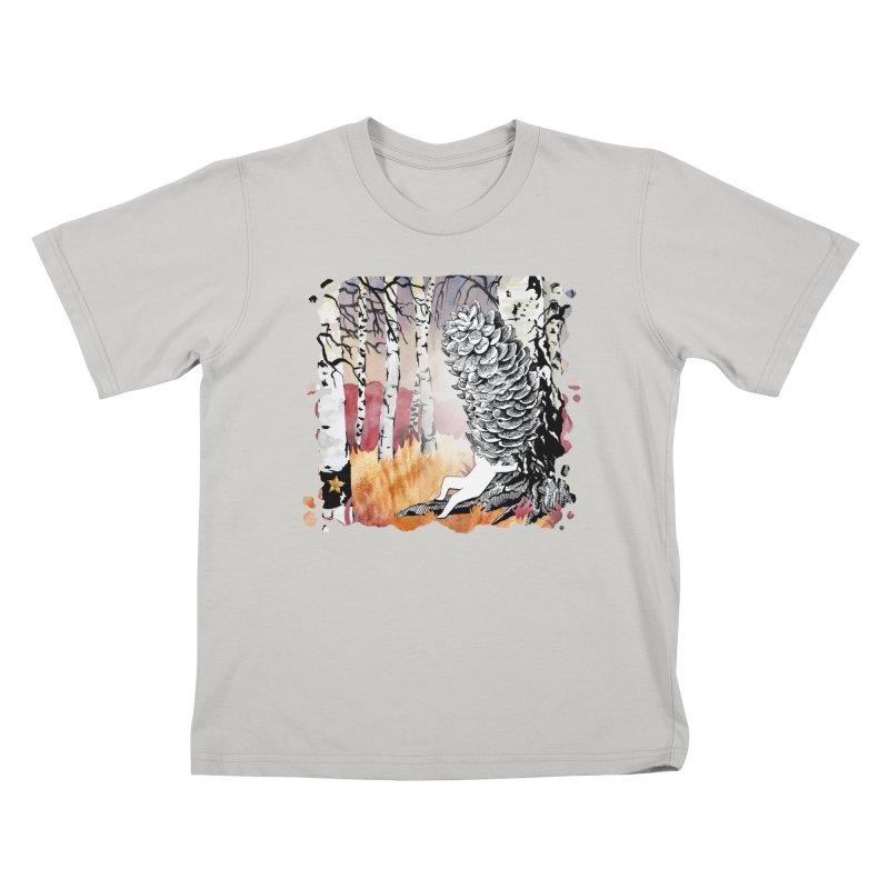 Autumn Forest from Karambola Kids T-shirt by holypangolin