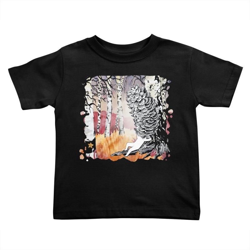 Autumn Forest from Karambola Kids Toddler T-Shirt by holypangolin