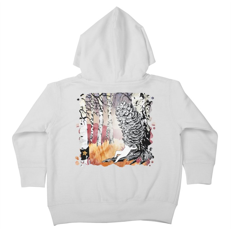 Autumn Forest from Karambola Kids Toddler Zip-Up Hoody by holypangolin
