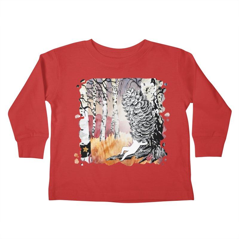 Autumn Forest from Karambola Kids Toddler Longsleeve T-Shirt by holypangolin