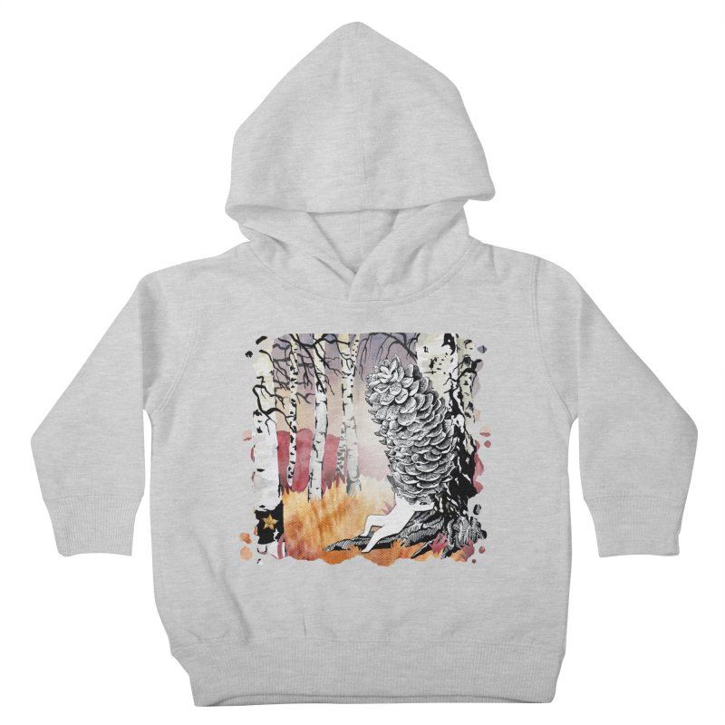Autumn Forest from Karambola Kids Toddler Pullover Hoody by holypangolin