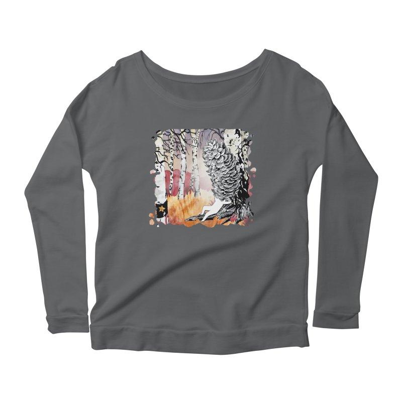 Autumn Forest from Karambola Women's Longsleeve T-Shirt by holypangolin
