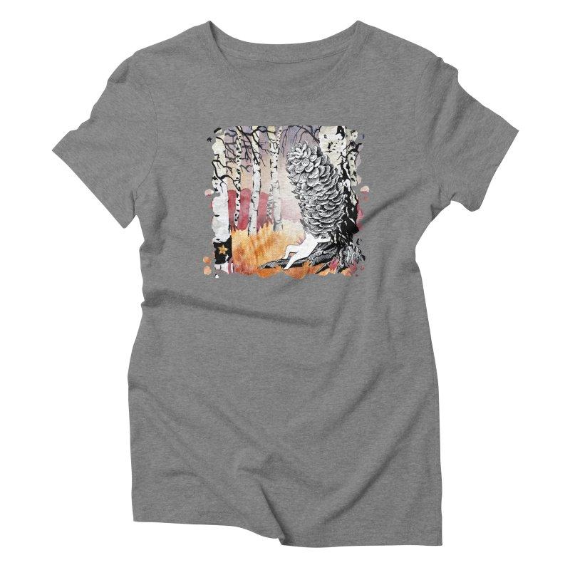 Autumn Forest from Karambola Women's Triblend T-shirt by holypangolin
