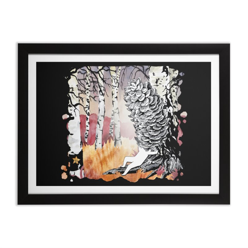 Autumn Forest from Karambola Home Framed Fine Art Print by holypangolin