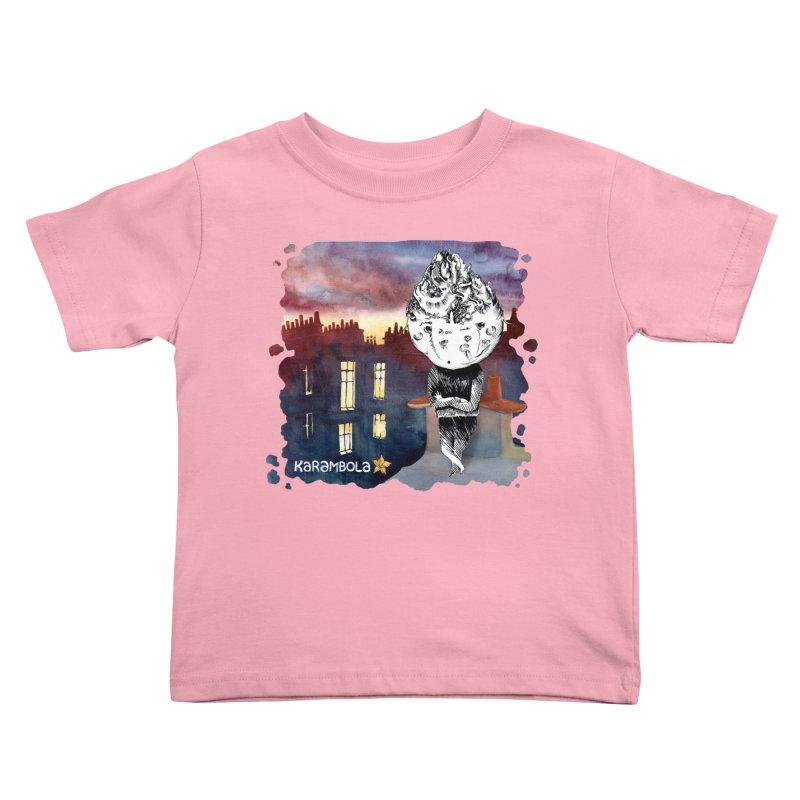 Grumpy Celery from Karambola Kids Toddler T-Shirt by holypangolin
