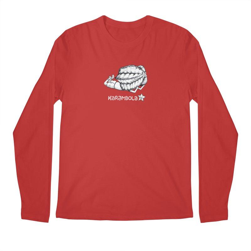 Karambola Men's Regular Longsleeve T-Shirt by holypangolin