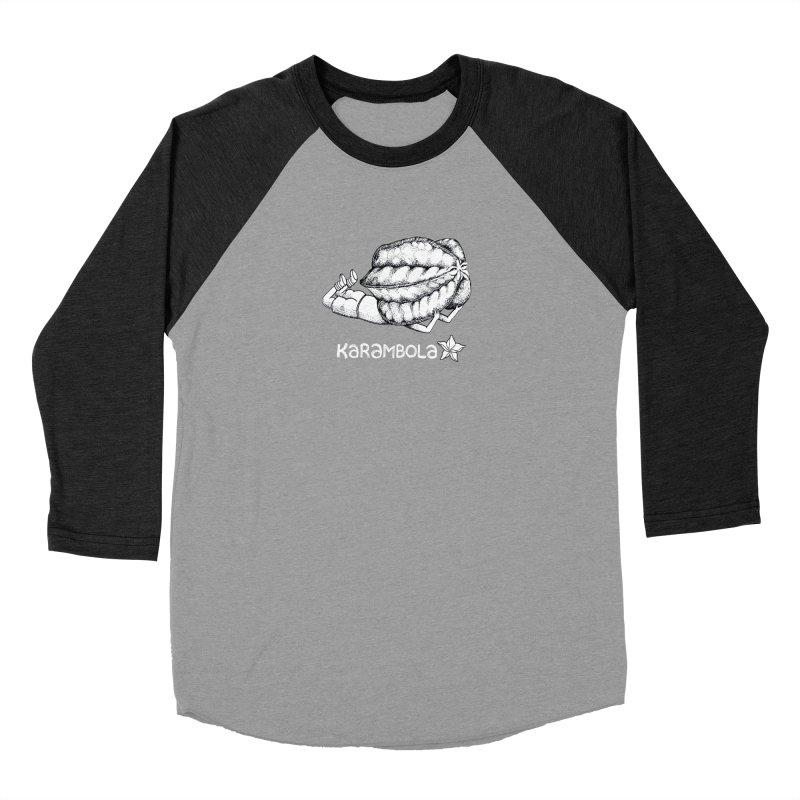 Karambola Women's Baseball Triblend T-Shirt by holypangolin
