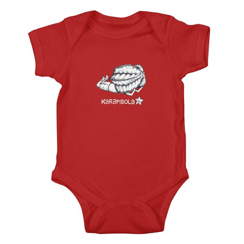 Karambola Kids Baby Bodysuit by holypangolin