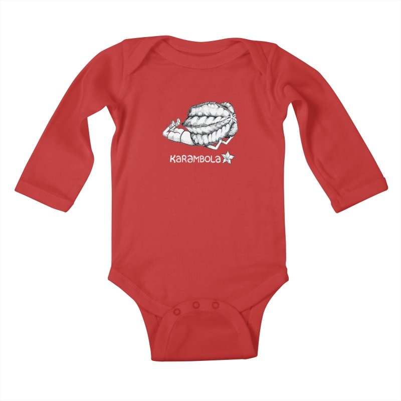 Karambola Kids Baby Longsleeve Bodysuit by holypangolin