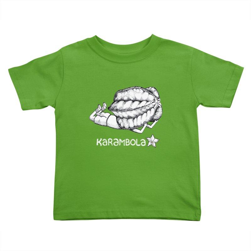 Karambola Kids Toddler T-Shirt by holypangolin