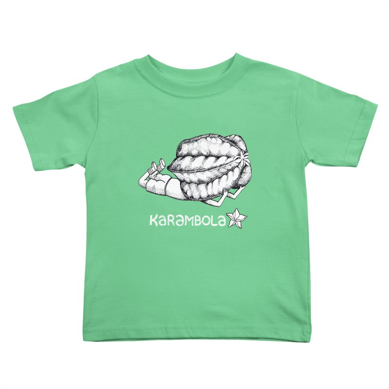 Karambola Kids Toddler T-Shirt by holypangolin