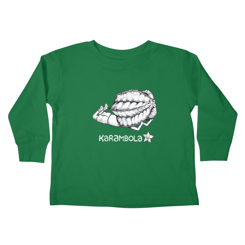 Karambola Kids Toddler Longsleeve T-Shirt by holypangolin