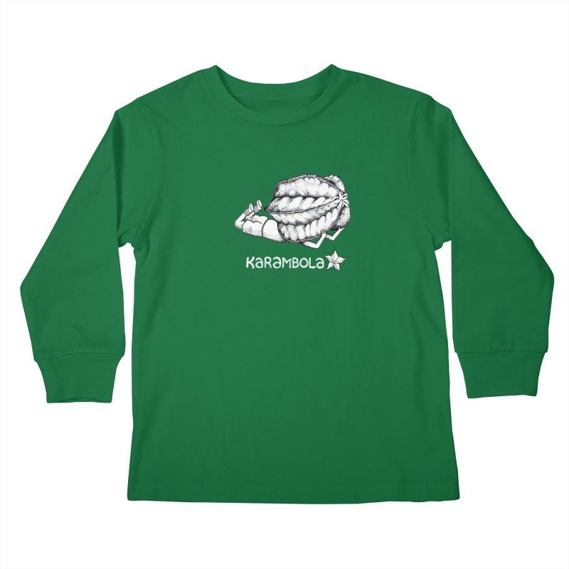 Karambola Kids Longsleeve T-Shirt by holypangolin