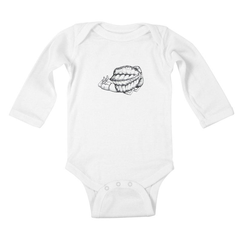 Karambola - no title Kids Baby Longsleeve Bodysuit by holypangolin