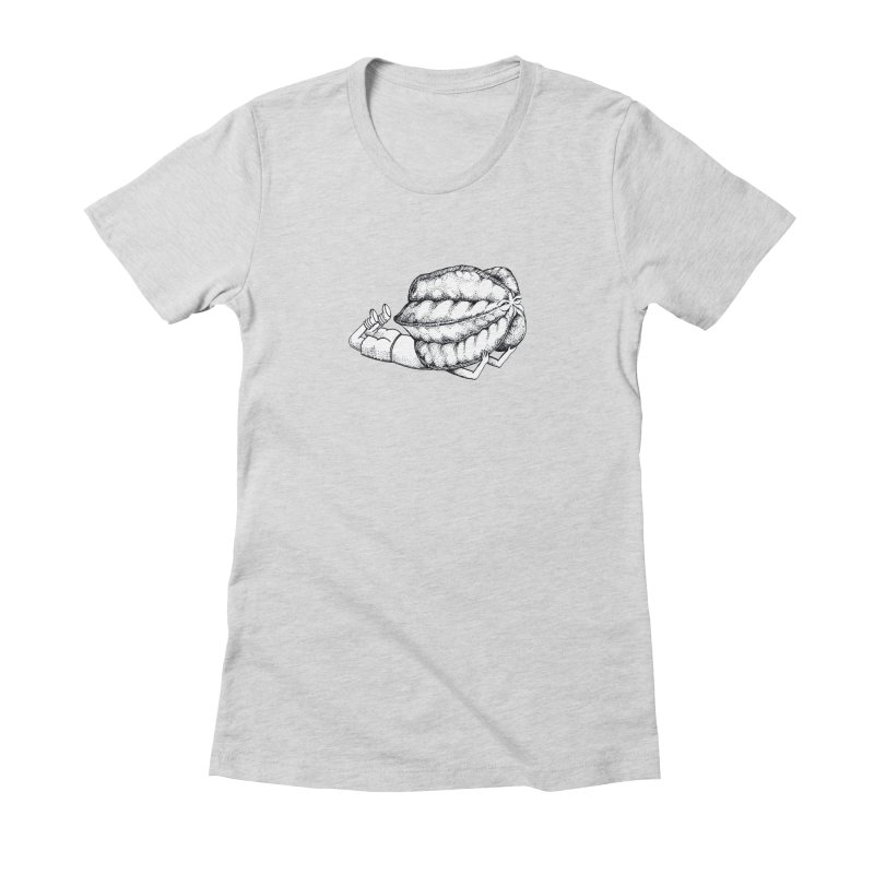 Karambola - no title Women's Fitted T-Shirt by holypangolin