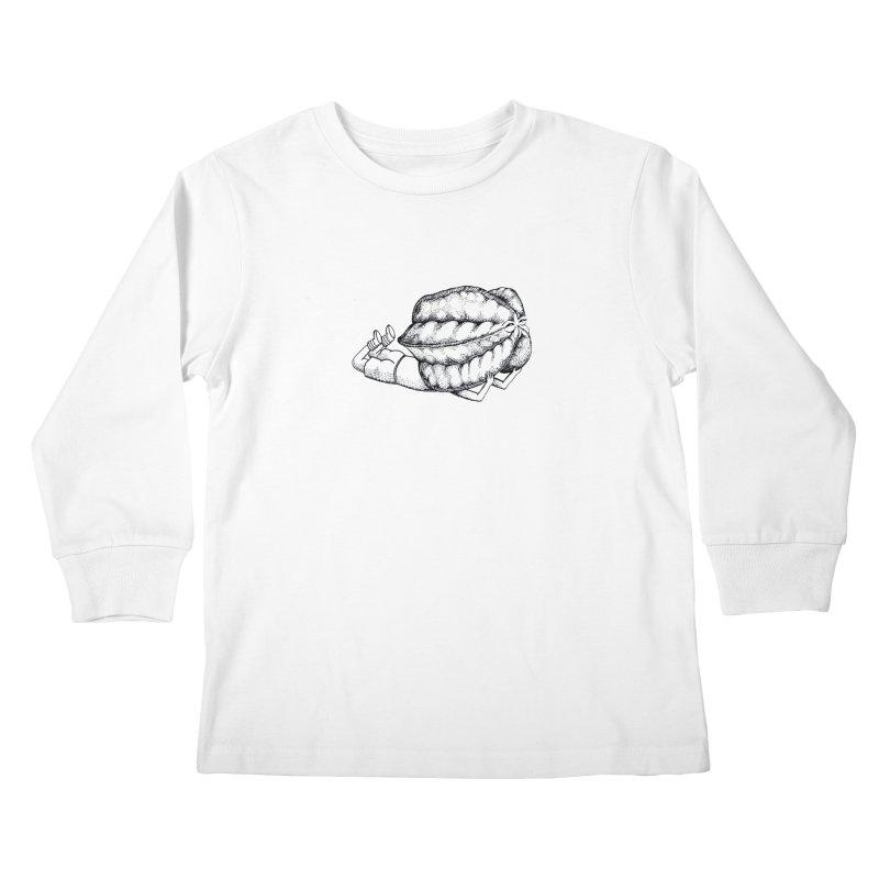Karambola - no title Kids Longsleeve T-Shirt by holypangolin