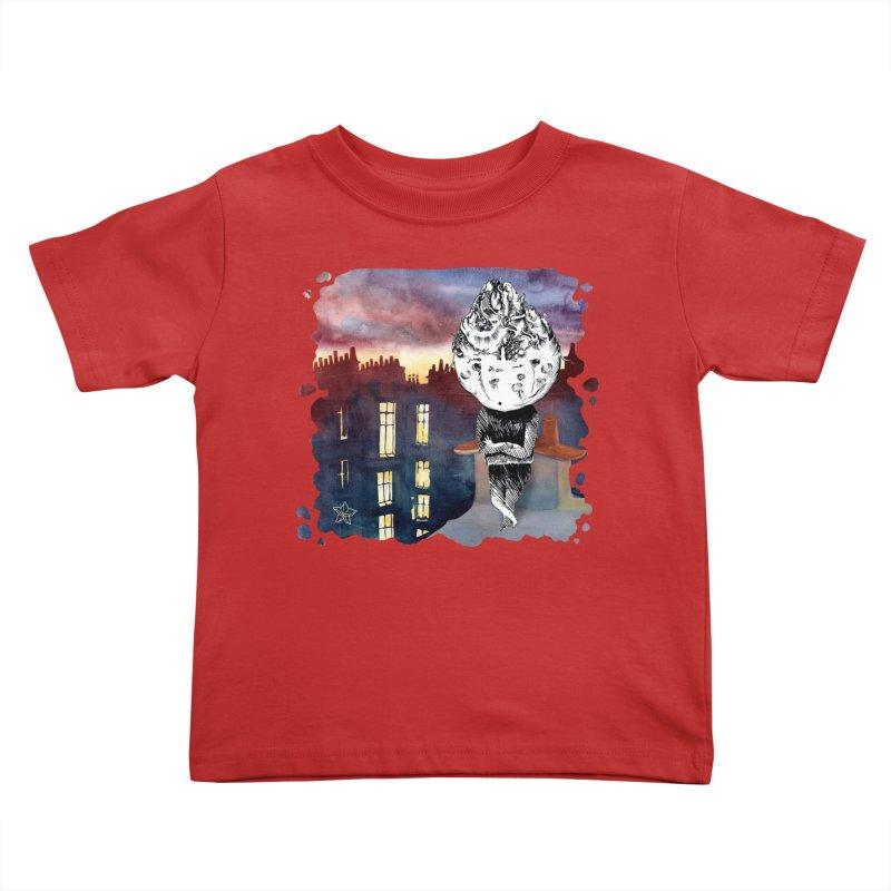Grumpy Celery from Karambola - no title Kids Toddler T-Shirt by holypangolin