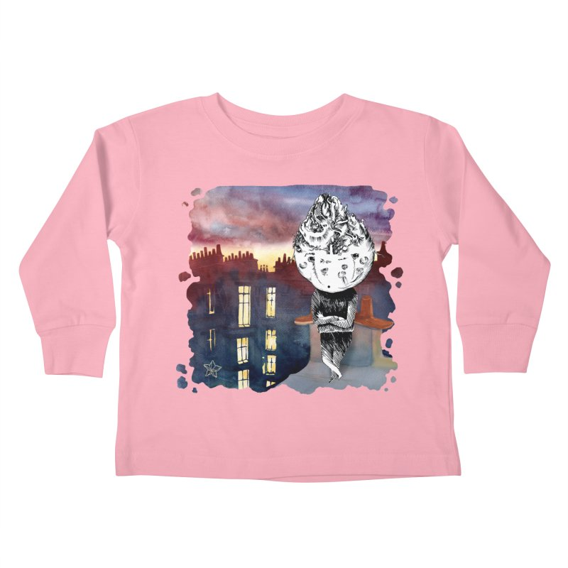 Grumpy Celery from Karambola - no title Kids Toddler Longsleeve T-Shirt by holypangolin