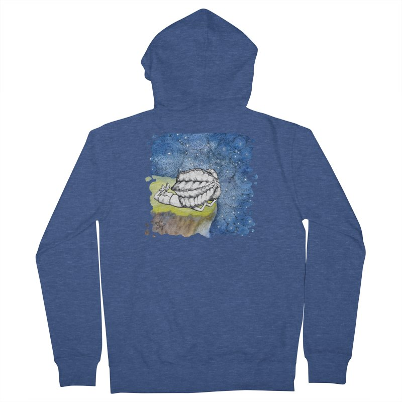 Starry Night from Karambola - no title Men's Zip-Up Hoody by holypangolin