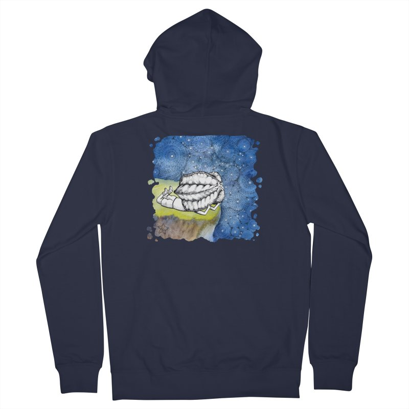 Starry Night from Karambola - no title Men's French Terry Zip-Up Hoody by holypangolin