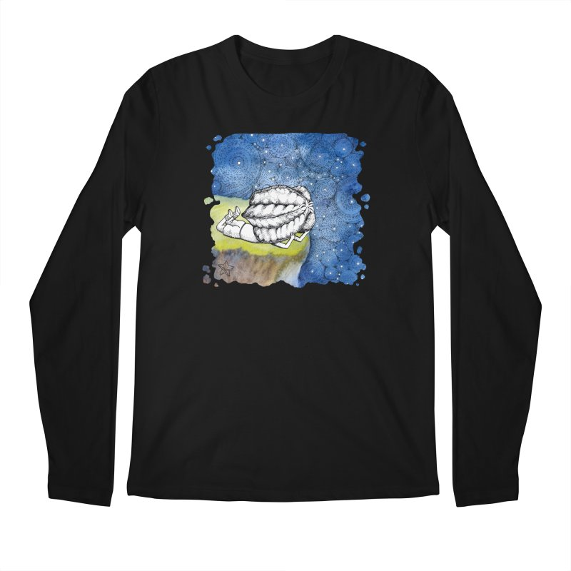 Starry Night from Karambola - no title Men's Longsleeve T-Shirt by holypangolin