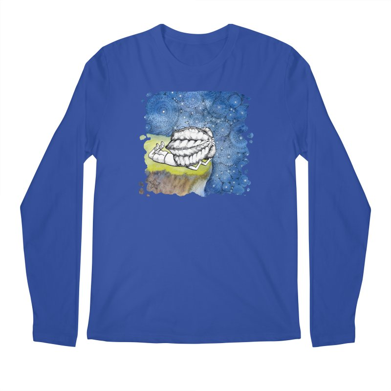 Starry Night from Karambola - no title Men's Regular Longsleeve T-Shirt by holypangolin