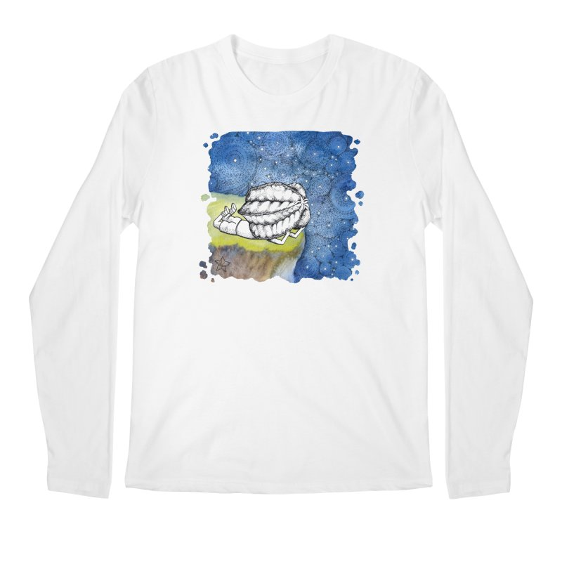 Starry Night from Karambola - no title Men's Regular Longsleeve T-Shirt by holypangolin