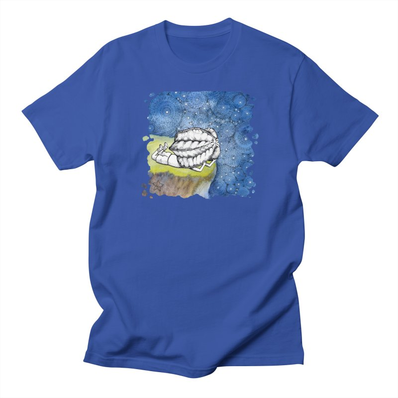 Starry Night from Karambola - no title Men's Regular T-Shirt by holypangolin