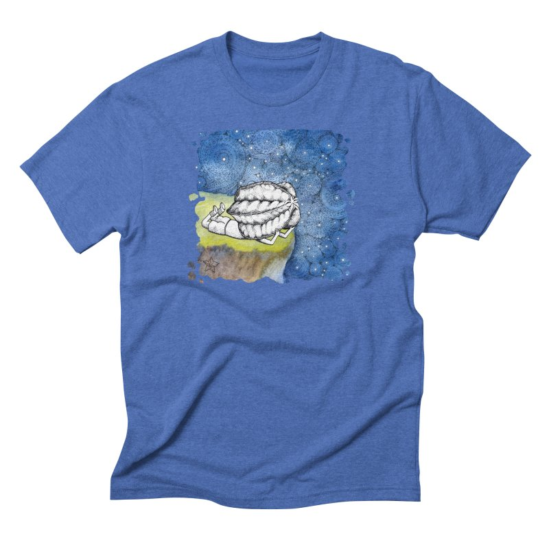 Starry Night from Karambola - no title Men's Triblend T-Shirt by holypangolin
