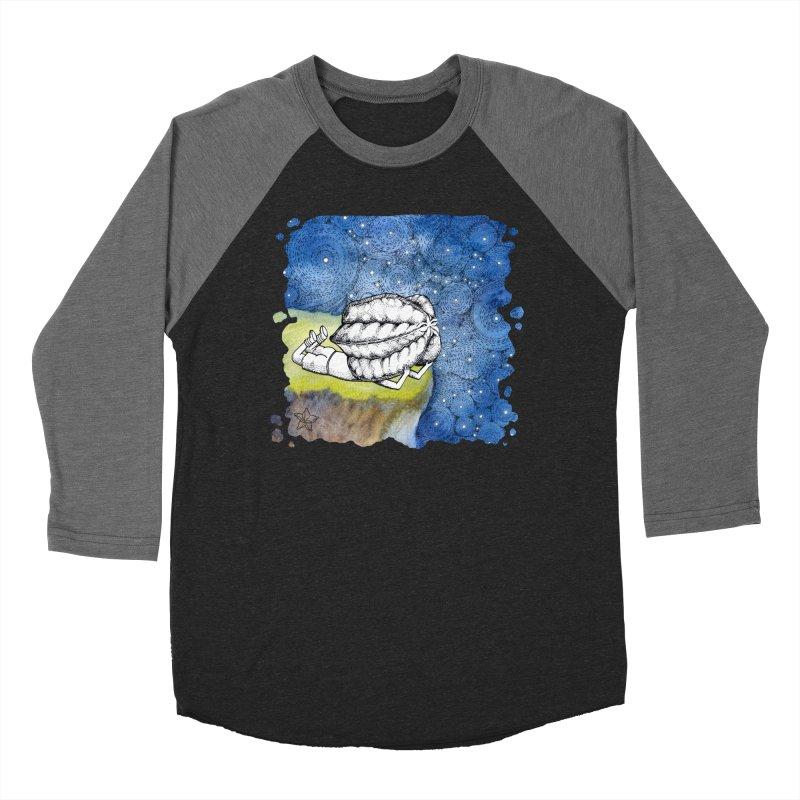 Starry Night from Karambola - no title Women's Baseball Triblend Longsleeve T-Shirt by holypangolin