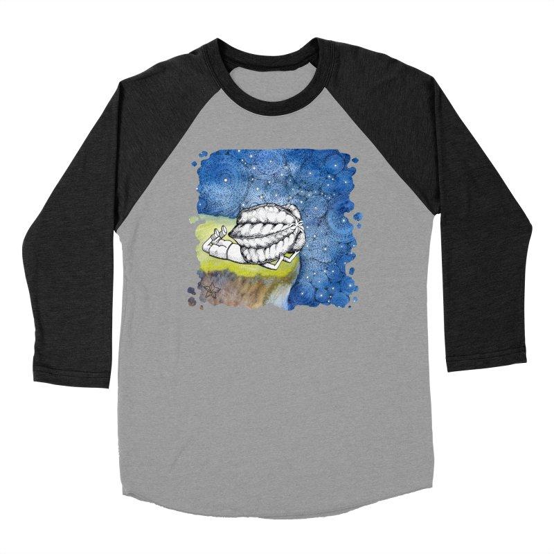 Starry Night from Karambola - no title Women's Baseball Triblend T-Shirt by holypangolin