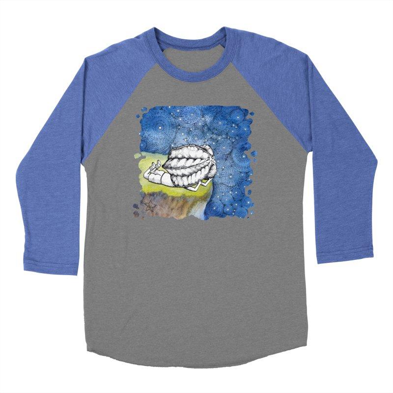 Starry Night from Karambola - no title Men's Baseball Triblend T-Shirt by holypangolin