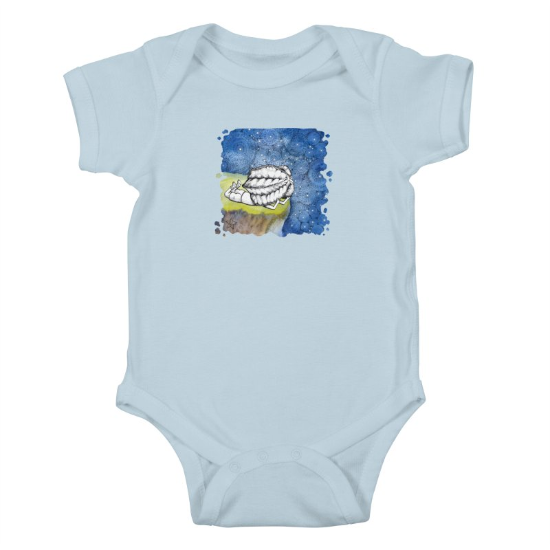 Starry Night from Karambola - no title Kids Baby Bodysuit by holypangolin