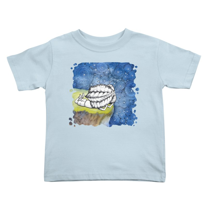 Starry Night from Karambola - no title Kids Toddler T-Shirt by holypangolin