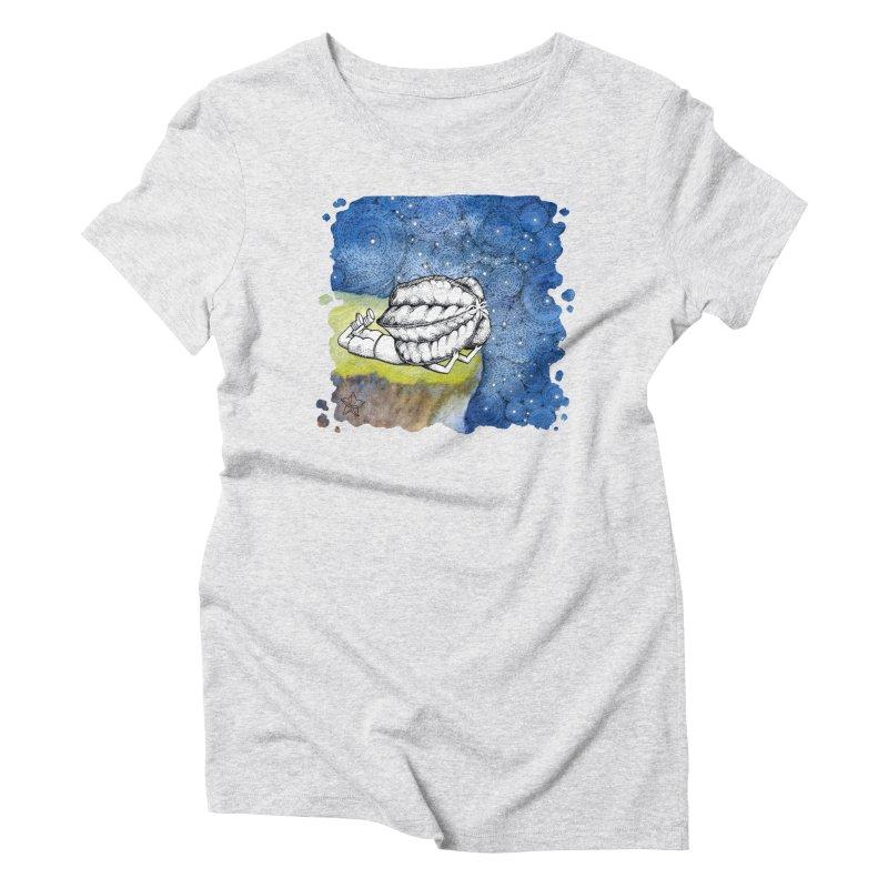 Starry Night from Karambola - no title Women's T-Shirt by holypangolin