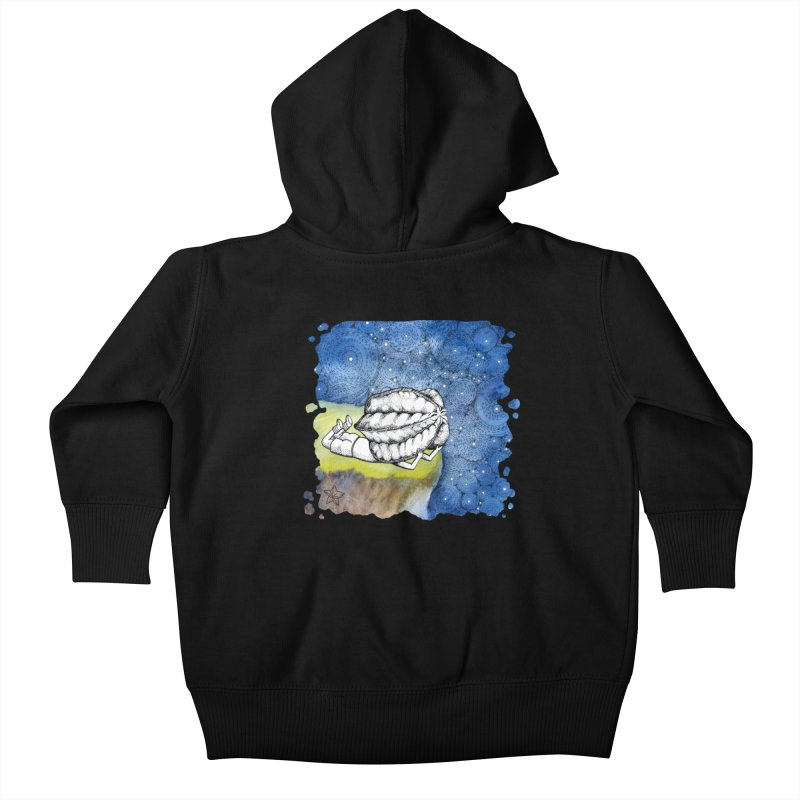 Starry Night from Karambola - no title Kids Baby Zip-Up Hoody by holypangolin