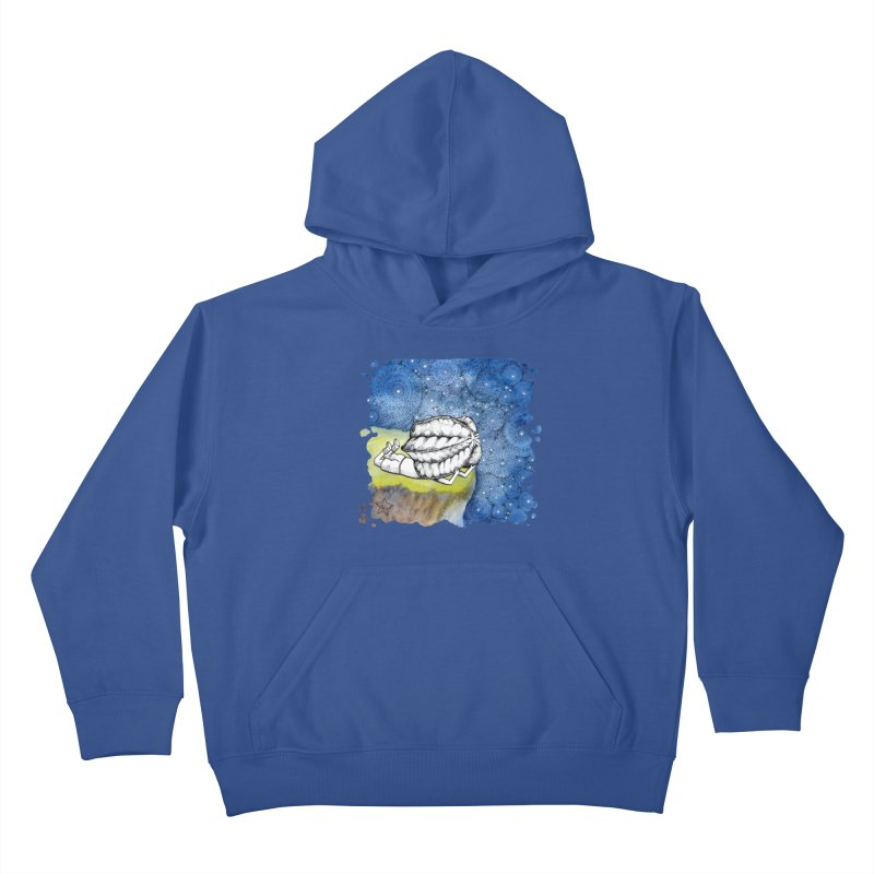 Starry Night from Karambola - no title Kids Pullover Hoody by holypangolin