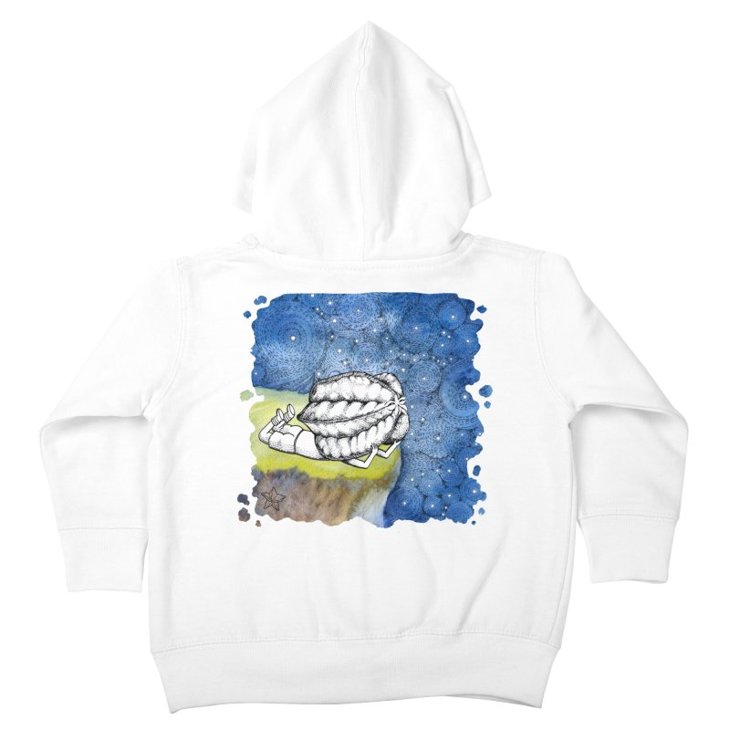 Starry Night from Karambola - no title Kids Toddler Zip-Up Hoody by holypangolin